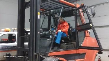 Forklift Linde H80T-900